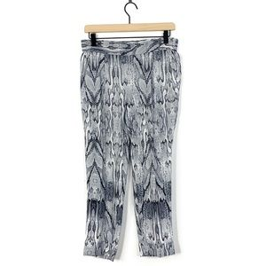 Intermix Silk Snake Skin Print Jogger Style Pants